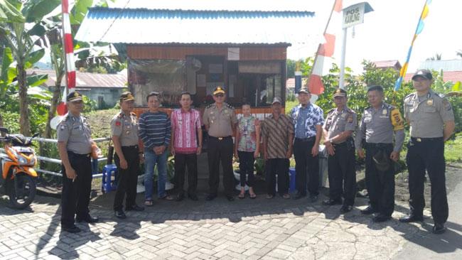 Desa Tonsea Lama Juara 1 Lomba Poskamling Peringatan Hari Bhayangkara ke 73 Polres Minahasa
