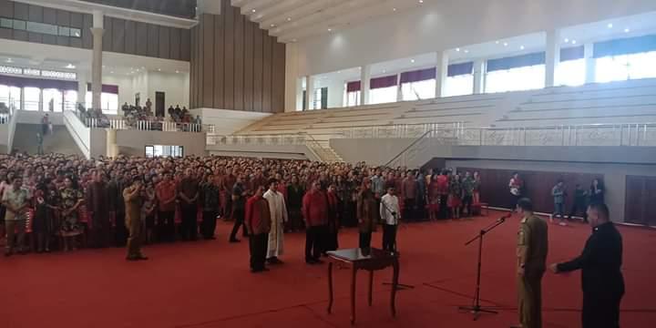 BPD TONSEALAMA 2019-2025, RESMI BERTUGAS