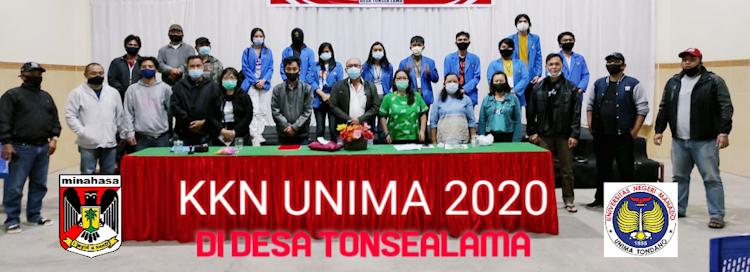 KKN UNIMA 2020, MEMBANGUN DESA